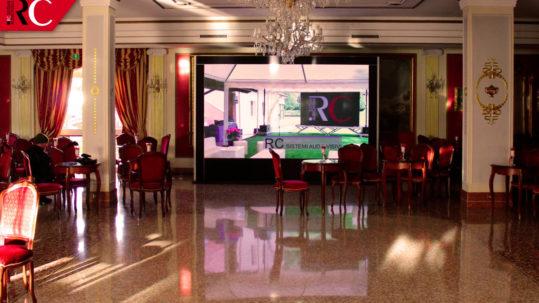 ledwall pre-allestito a noleggio per eventi di RC Sistemi Audiovisivi