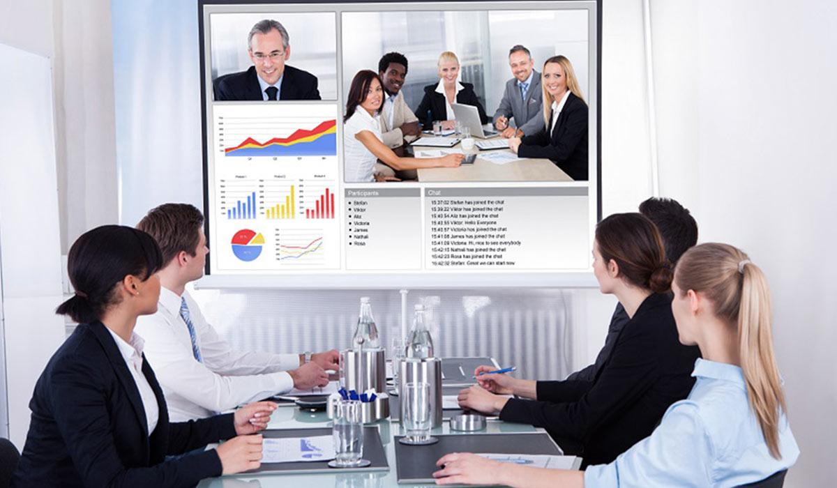 videoconferenza installazioni di RC Sistemi Audiovisivi
